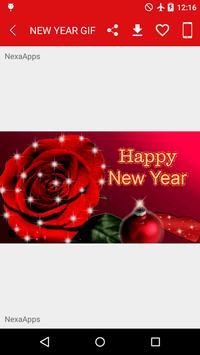 New Year 2018 GIF apk screenshot