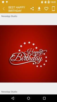 Best Happy Birthday Images apk screenshot
