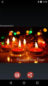 New Year Wishes Images 2017 screenshot 2