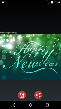 New Year Wishes Images 2017 screenshot 6