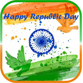 Republic Day Wishes images icon