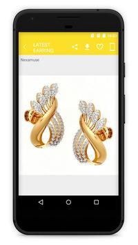 Latest Earring Jewellery Designs screenshot 4