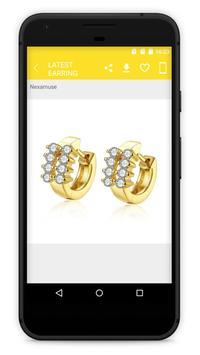 Latest Earring Jewellery Designs screenshot 2