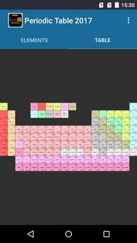 Periodic Table screenshot 1