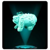 홀로그램 백제 유물 <석수> icon