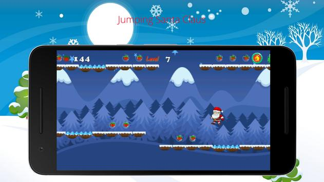 Jumping Santa Claus apk screenshot