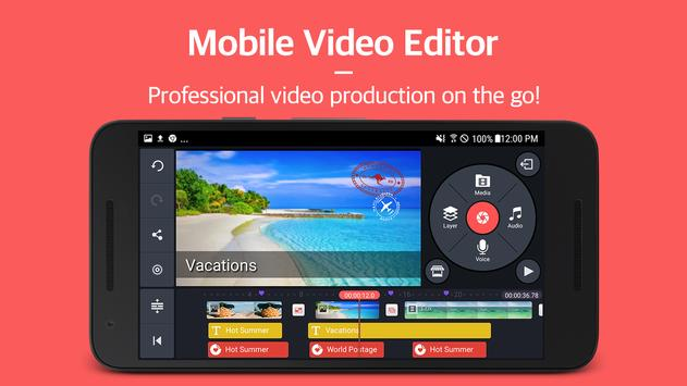KineMaster – Pro Video Editor poster