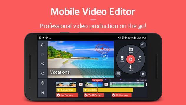 KineMaster – Editor Video Pro poster