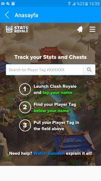 Stats Royale Next Cheats apk screenshot