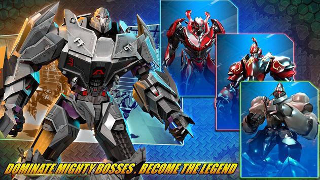 ألعاب روبوت القتال: Real Transform Ring Fight 3D الملصق