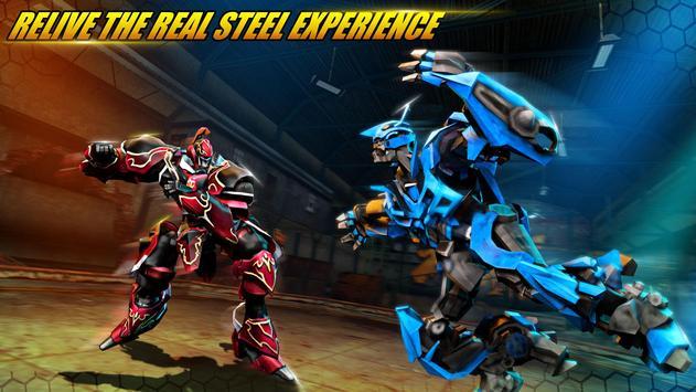 ألعاب روبوت القتال: Real Transform Ring Fight 3D تصوير الشاشة 10
