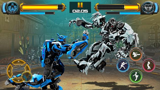 Robot Fighting Games: Real Transform Ring Fight 3D screenshot 11