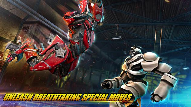 Robot Fighting Games: Real Transform Ring Fight 3D screenshot 2