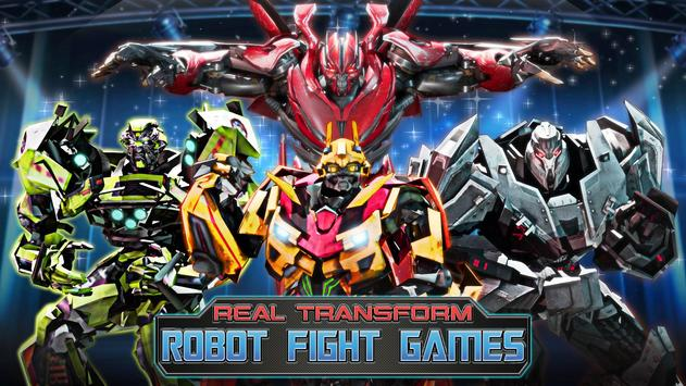 Robot Fighting Games: Real Transform Ring Fight 3D screenshot 8