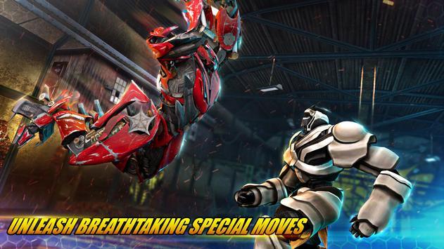 ألعاب روبوت القتال: Real Transform Ring Fight 3D تصوير الشاشة 9