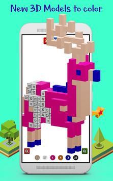 3D Color by Number Coloring Book 2018 - Pixel Art screenshot 6