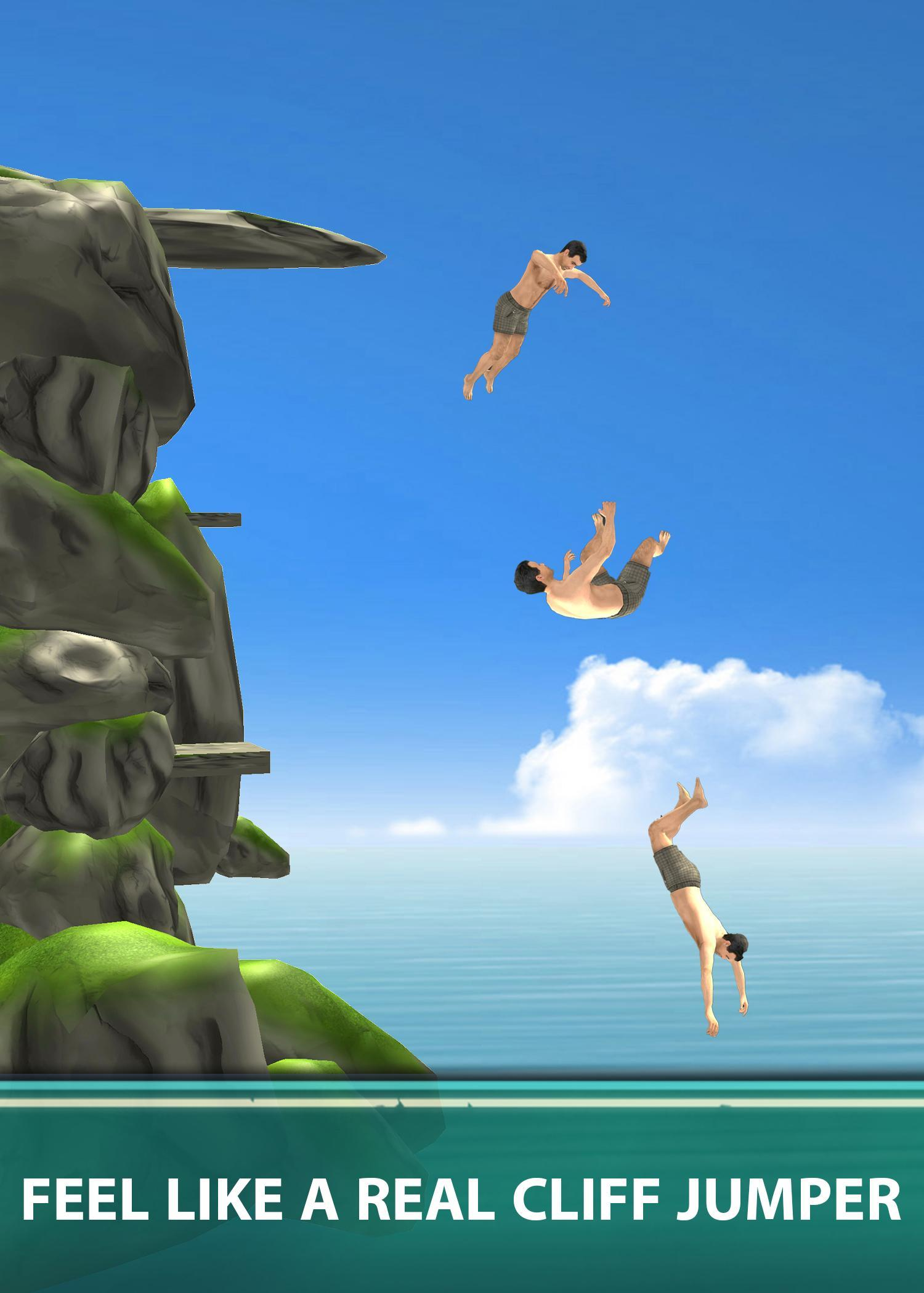 Cliff Flip Diving 3D - Swimming Pool Flip Master for Android
