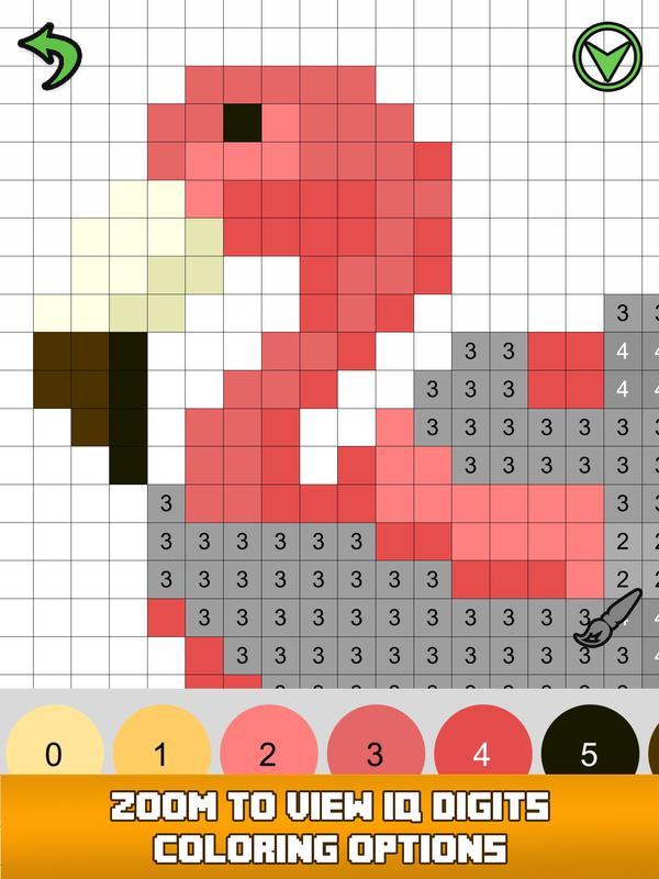 Pixel Art Color by Number Sandbox