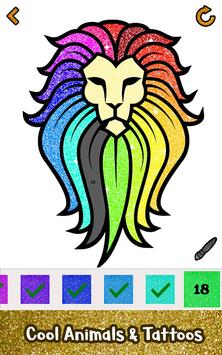 Adult Glitter Color by Number Book - Sandbox Pages for Android - APK ...