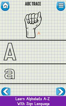 ASL Learning Flashcards screenshot 1