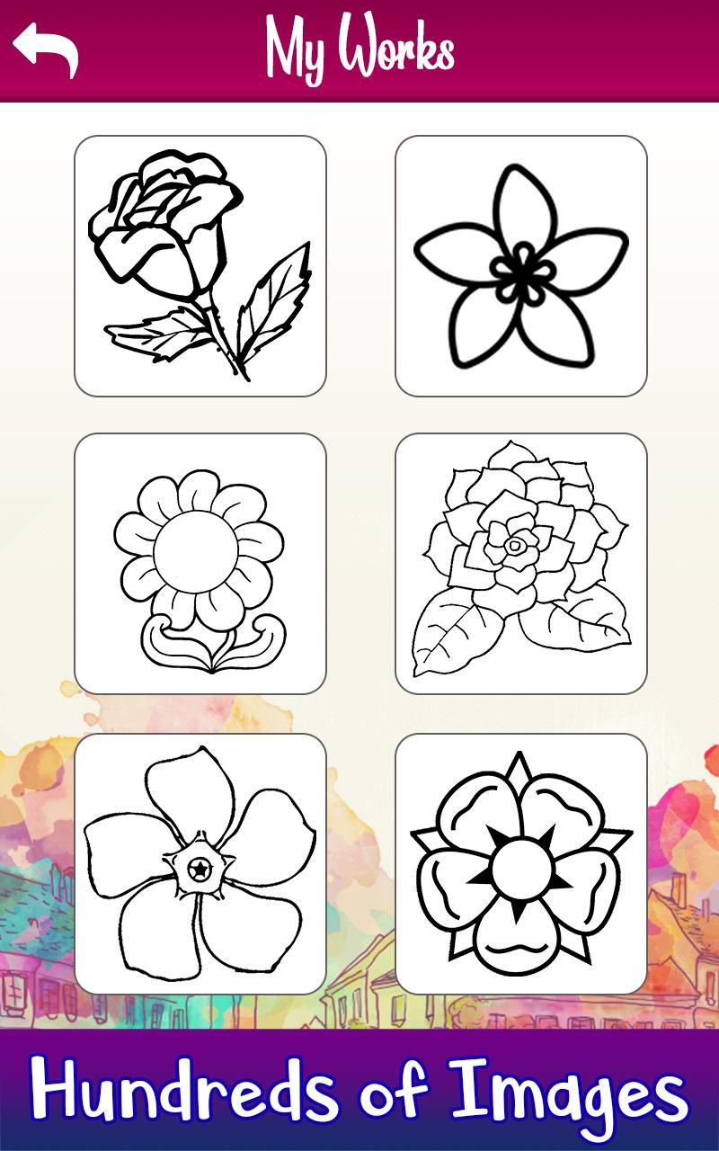 Learn to Draw Flowers: Draw, Glitter & Color Book for