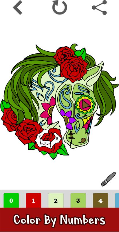 Awesome Unicorn Coloring App