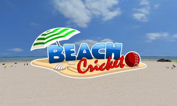 Beach Cricket पोस्टर