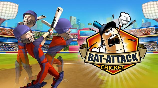 Bat Attack Cricket Multiplayer पोस्टर