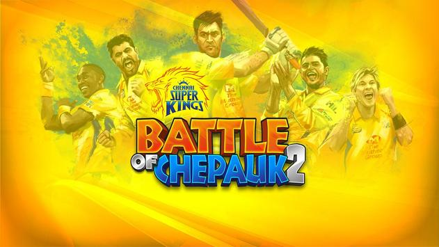Chennai Super Kings Battle Of Chepauk 2 पोस्टर
