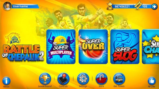 Chennai Super Kings Battle Of Chepauk 2 स्क्रीनशॉट 2