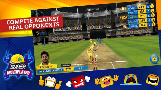 Chennai Super Kings Battle Of Chepauk 2 स्क्रीनशॉट 3