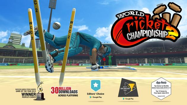 World Cricket Championship 2 पोस्टर