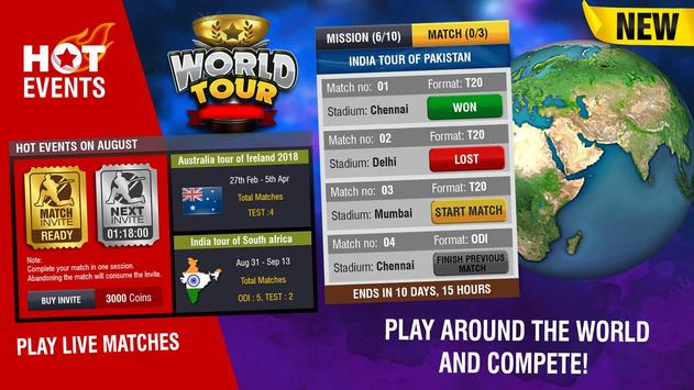 World Cricket Championship 2 apk स्क्रीनशॉट