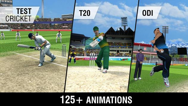 World Cricket Championship 2 apk 截圖