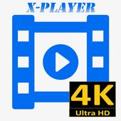 Videos X-Player Ultra HD 4K icon