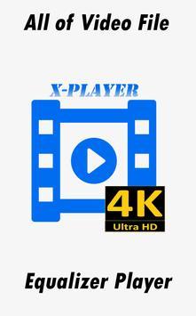 Videos X-Player Ultra HD 4K apk screenshot