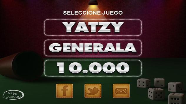 Yatzy +  Generala +10000 poster