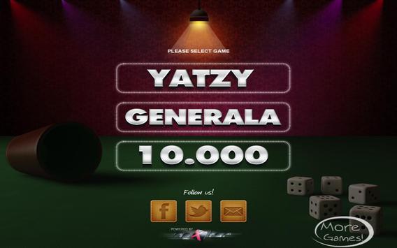 Yatzy HD + Generala + 10000 poster
