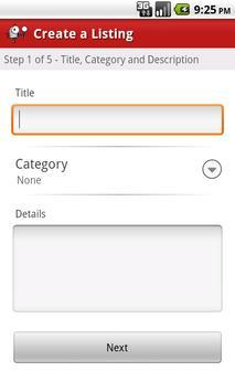 Nex-Tech Classifieds apk screenshot