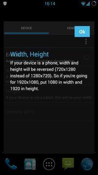 Resolution Changer Pro apk screenshot