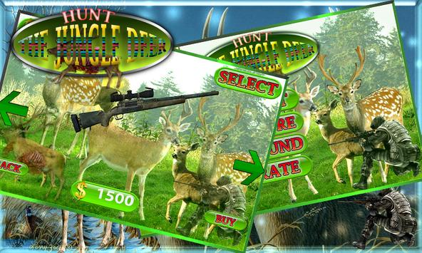 Hunt the Jungle Deer 3D apk screenshot