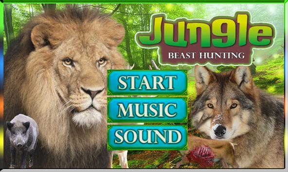 Jungle Beast Hunting: Shooter apk screenshot