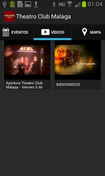 Theatro Club Málaga apk screenshot