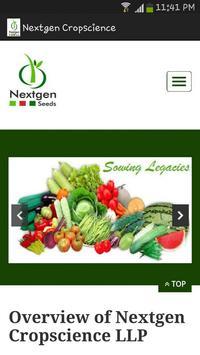 Nextgen Cropscience poster