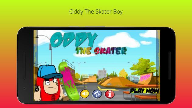 Oddy The Skater Boy poster