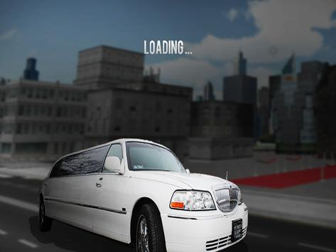 Limousine Car Parking 3D poster