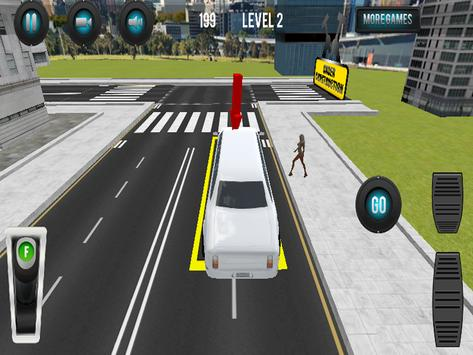 Limousine Car Parking 3D screenshot 2
