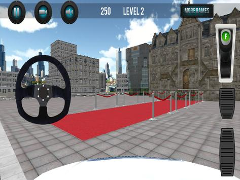 Limousine Car Parking 3D screenshot 6