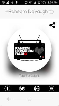 Raheem DeVaughn Radio poster
