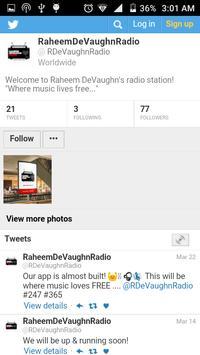 Raheem DeVaughn Radio apk screenshot
